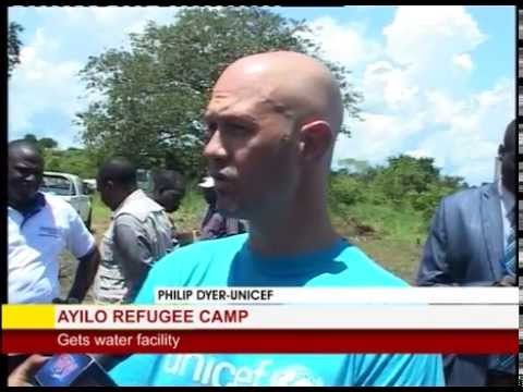 Government commissions solar powered water to benefit refugees in Ayilo camp-Adjumani district