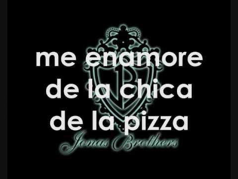 Jonas Brothers- Pizza girl + traduccion