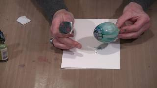 Christmas Fun - Alcohol Ink Ornaments! by Joggles.com