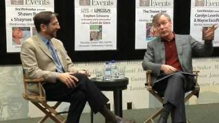 David Robertson: Offstage at Barnes & Noble (2 of 7)