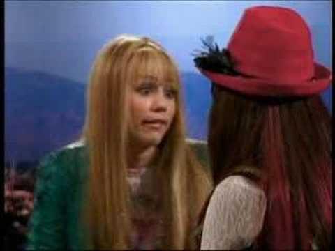 Selena Gomez on Hannah Montana