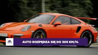 Jazda Porsche 911 (991) GT3 jako pasażer – Tor Poznań video