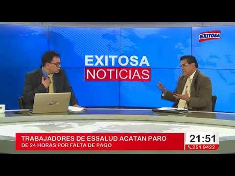 ENTREVISTA EN EXITOSA NOTICIAS A NUESTRO SECRETARIO GENERAL FLAVIO ROJAS