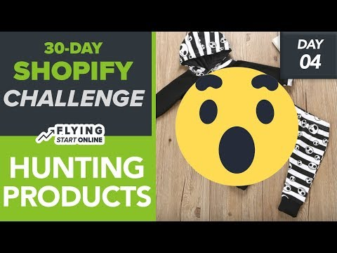 How To Find HOT Products To SELL On Shopify Store! Winning Products! - (Day 4/30) #Bizathon3