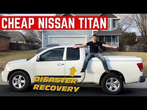 I BOUGHT A Disaster Recovery Nissan Titan *HOW BAD IS IT?*