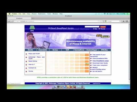 MTNL Broadband Review , Usage Check and Speed Check