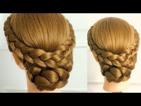 ทรงผมรับปริญญา|hairstyle |hairtutorial|Thai hair style