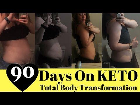 90 Days On Keto - Keto Transformation - Keto Diet Success - Keto Weight Loss Transformation