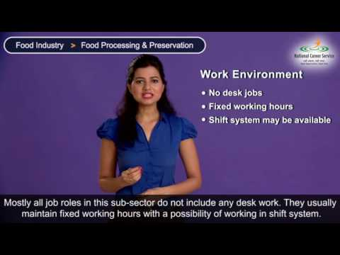 Food Industry - Food Processing & Preservation