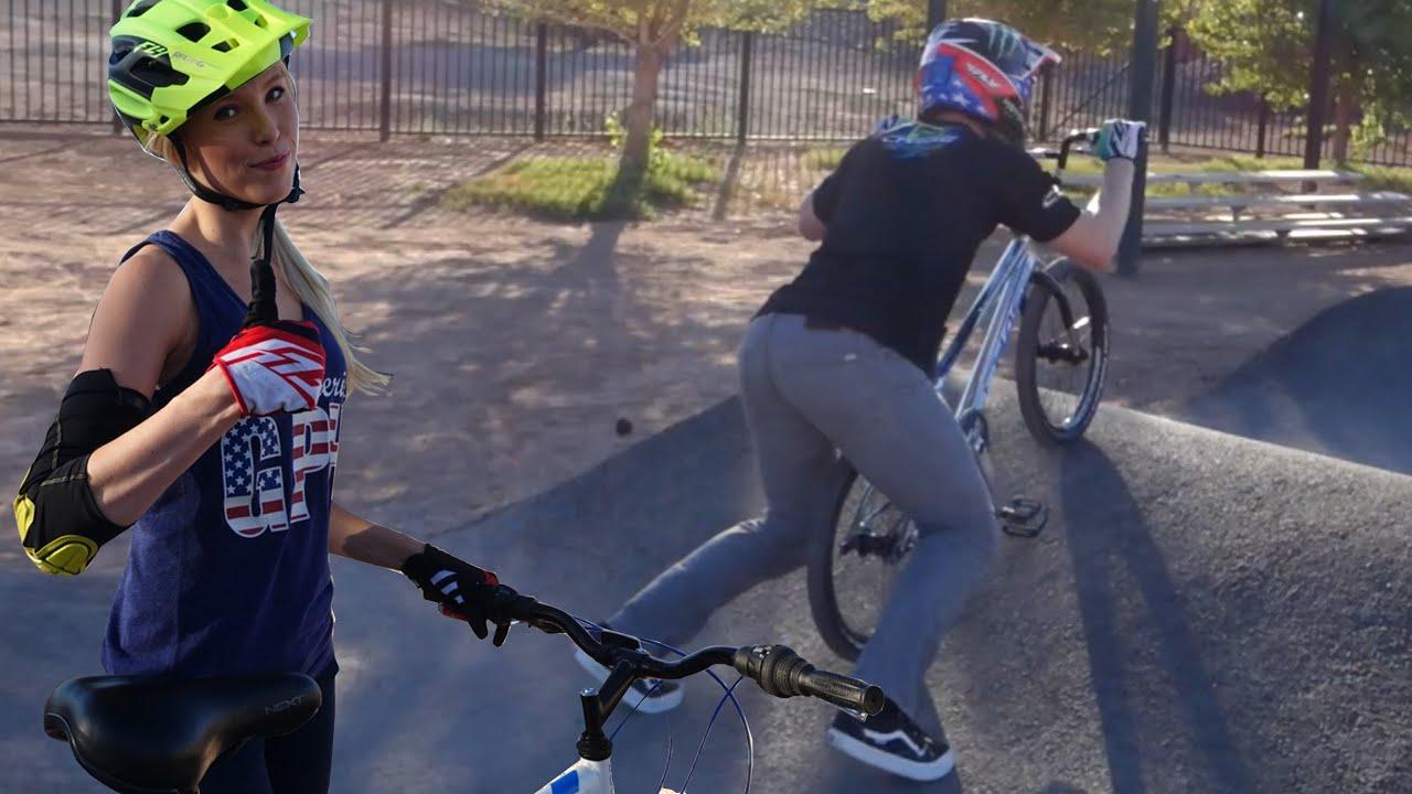 Bike Park With Connor Fields Loving Vegas Bmx Race Scene Youtube