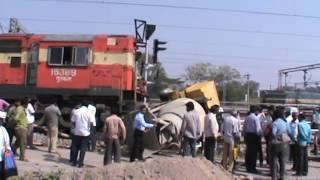 TRAIN AND TARCTOR ACCIDENT GUNTAKAL
