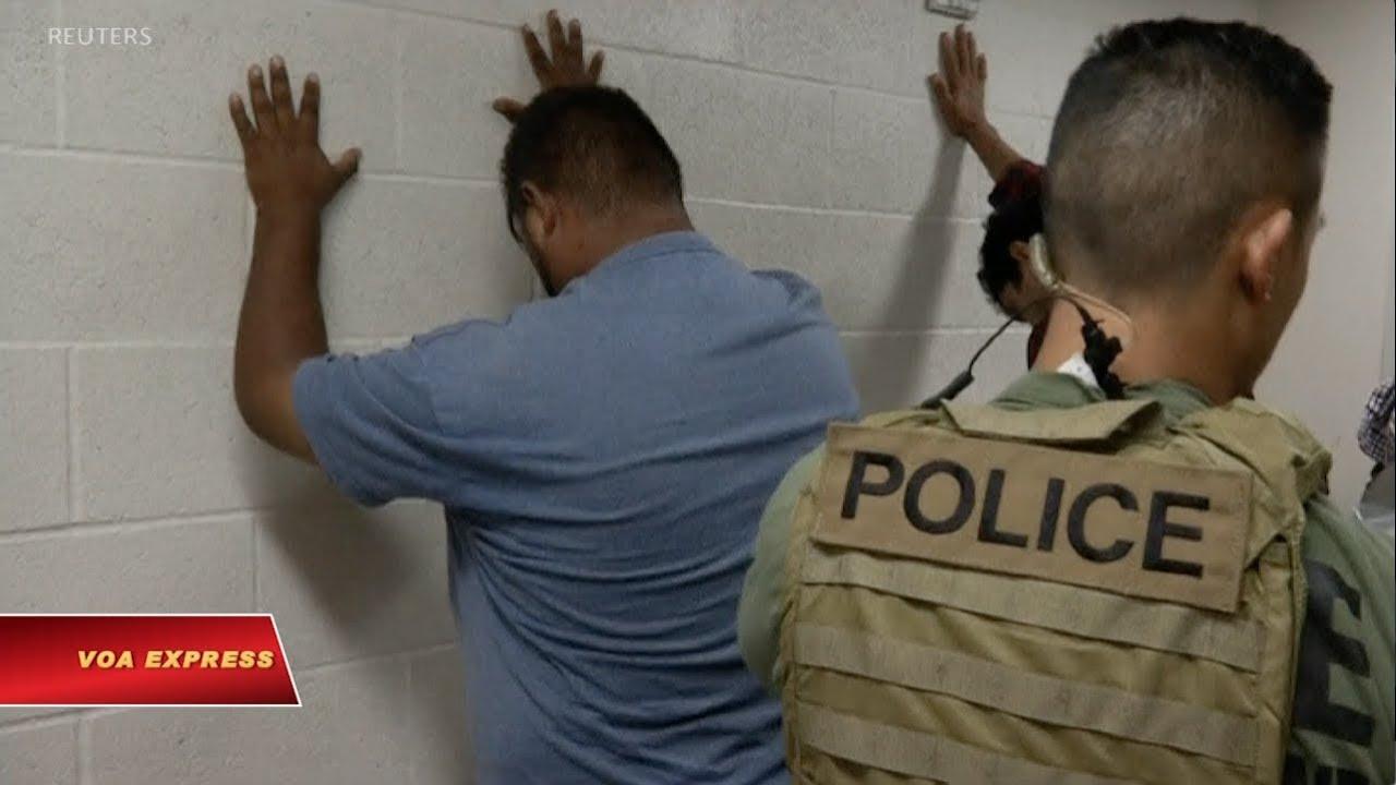 Image result for mỹ bắt đầu chiến dịch truy quét di dân bất hợp pháp