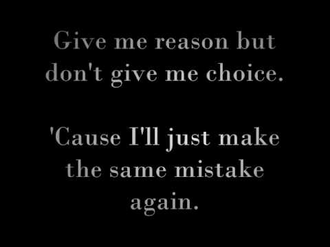 Same Mistake by James Blunt (lyrics)