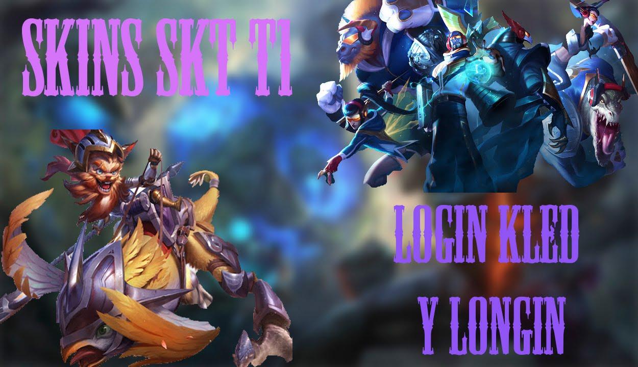 Skins Skt T1 Kled Login Y Skin Secundaria League Of Legends