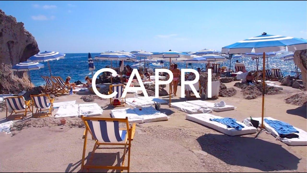 Capri Amalfi Coast Italy Travel Diary