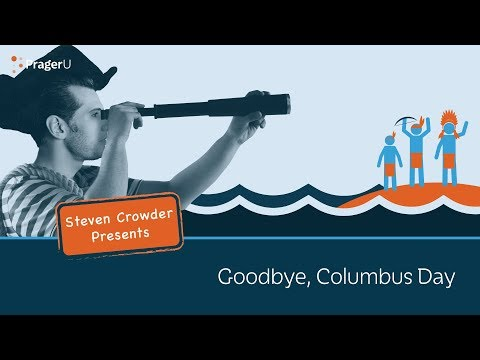 Goodbye, Columbus Day