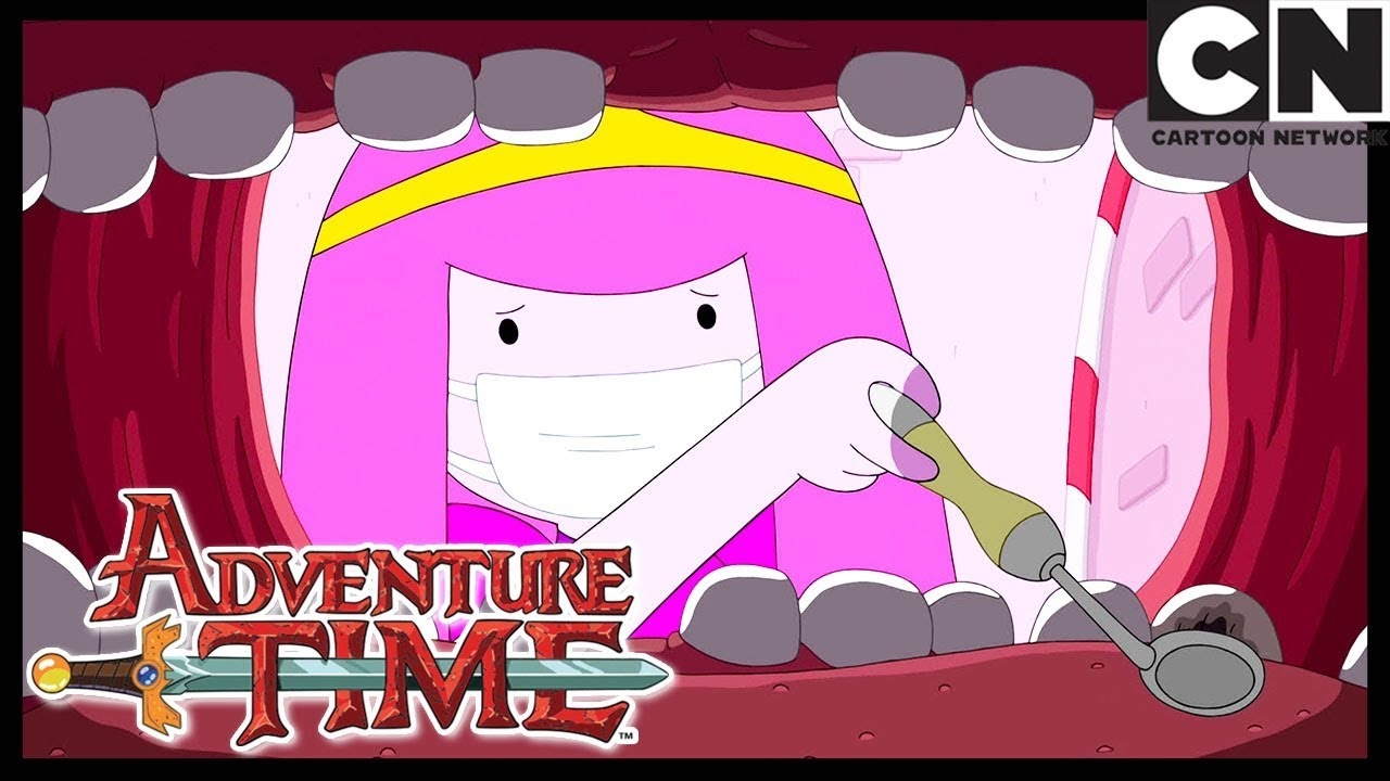 Adventure Time | Finn Has To Go Dentist | The Dentist | Cartoon Network