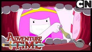 Adventure Time | Finn Has To Go Dentist | The Dentist | Cartoon Network