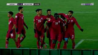أهداف العنابي | قطر 3 - 2 فلسطين |  كأس آسيا تحت 23 سنة