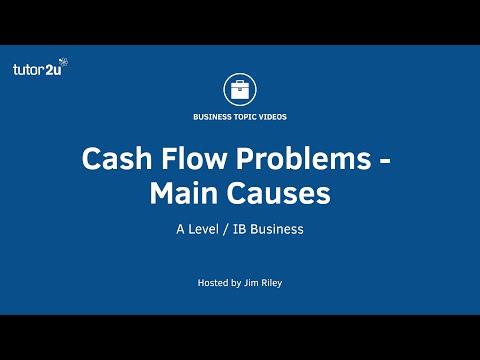 Cash Flow - Causes Of Cash Flow Problems