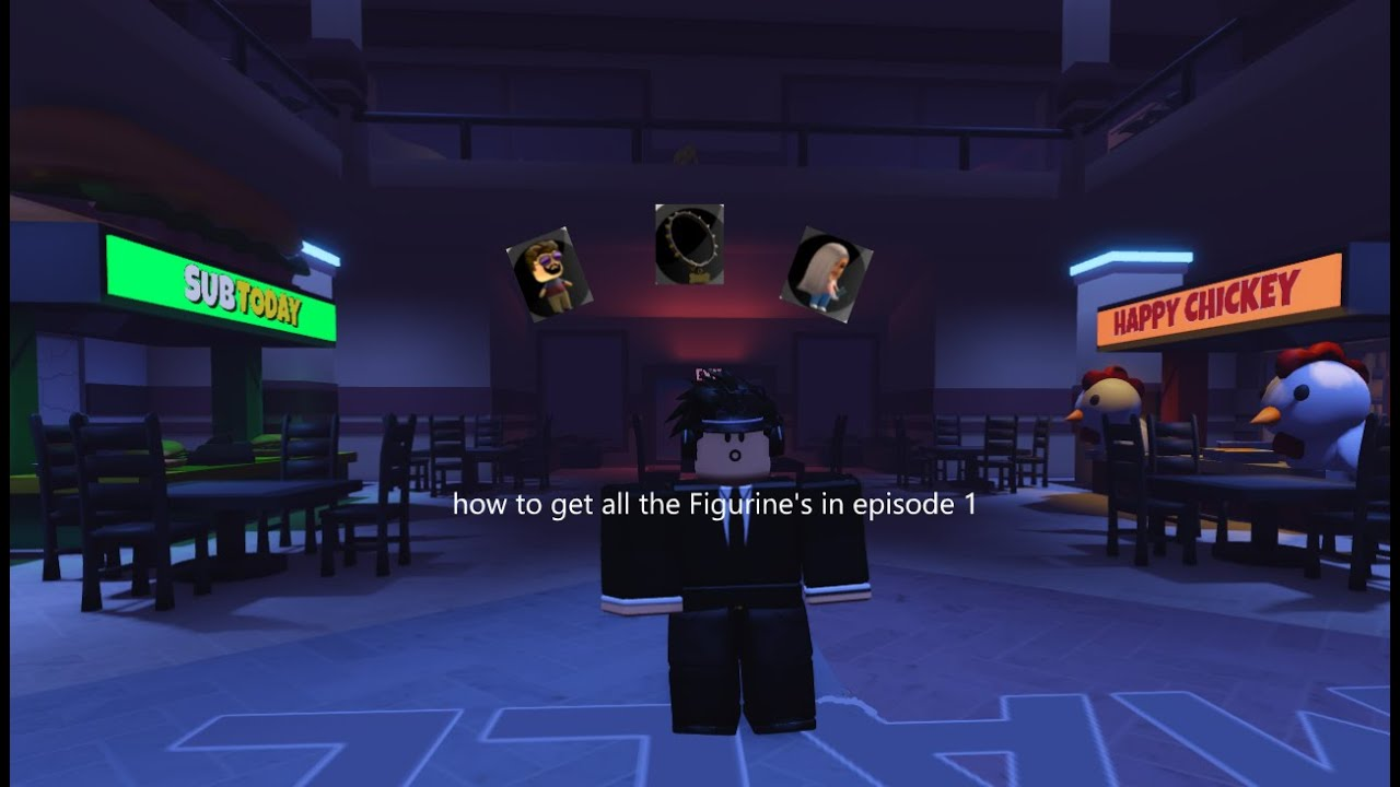 Download How to get all the Figurine's in episode 1.   TIMMEH  