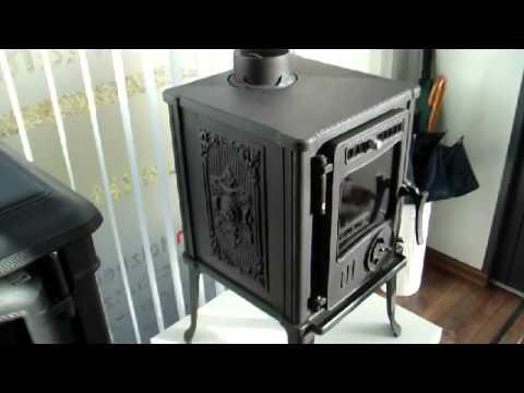 gussofen isra kleiner dauerbrandofen mit gro em auftritt youtube. Black Bedroom Furniture Sets. Home Design Ideas