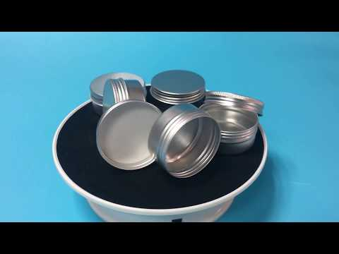 Cheap 50ml Aluminum jars with Aluminum screw caps for dab Concentrate
