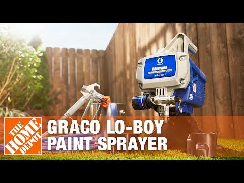 Rent The Graco Lo-Boy Paint Sprayer | The Home Depot