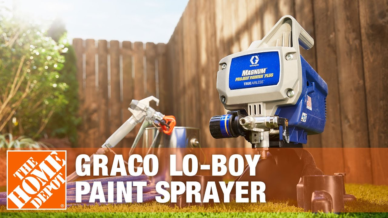 Rent The Graco Lo Boy Paint Sprayer The Home Depot