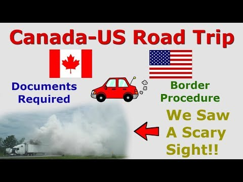 Canada To US Road Trip | What You Need To Know | Toronto To Connecticut By Road