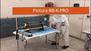 Pintura de nuestra nueva arenadora BB-K-PRO