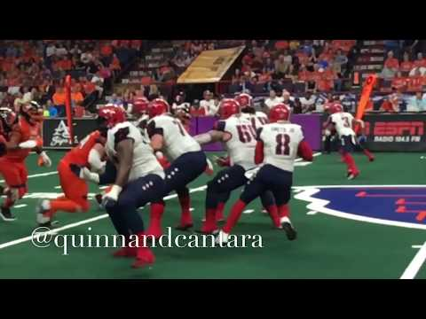 AFL 101 week #6 WITH THE ALBANY EMPIRE
