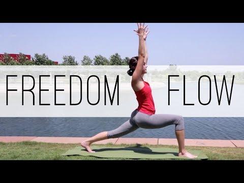 Freedom Flow! Yoga With Adriene - YouTube
