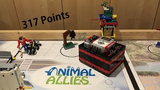FLL Animal Allies 2016 - 317 Points