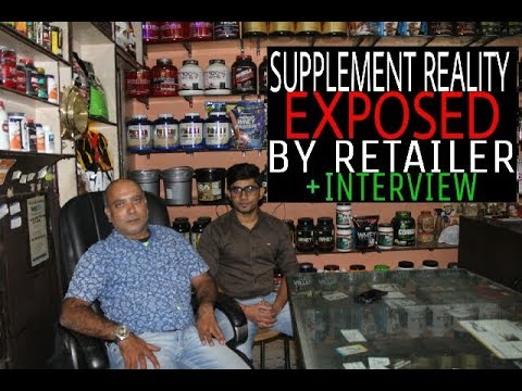 Supplement Reality Exposed by Retailer- Interview by Raj