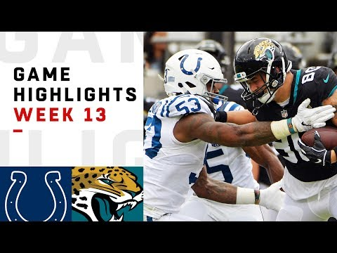 Colts vs. Jaguars Week 13 Highlights | NFL 2018