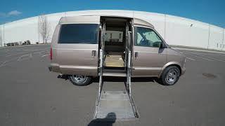 4K Review 2000 Chevrolet Astro Handicap Van Virtual Test-Drive and Walk around