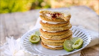 Key Lime Raspberry Sandwich Cookies – Country Living