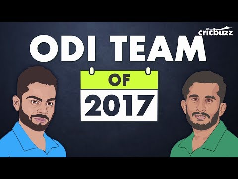 ODI XI of 2017