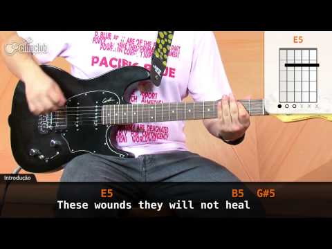 Crawling - Linkin Park (aula de guitarra)