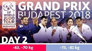 Judo Grand-Prix Budapest 2018: Day 2