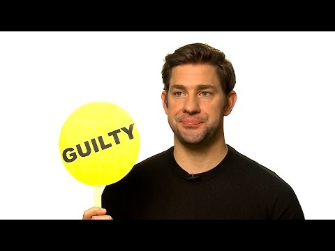 John Krasinski Plays Never Have I Ever