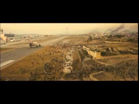 World War Z - Escape From Atarot Airport Jerusalem