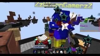 EL EMPUJE ME SALVA!! - Skywars Minecraft