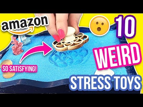 10 WEIRD STRESS RELIEVERS FROM AMAZON part 3