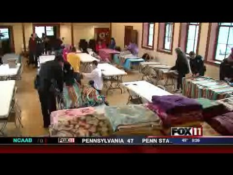 9PSAT FLEECE BLANKETS BRING ONEIDA COMMUNITY TOGETHER