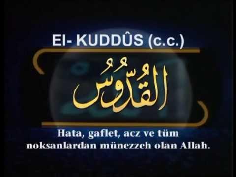 Mustafa ÖZCAN GÜNEŞDOGDU ESMAUL HUSNA