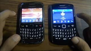 Blackberry Curve 9300 vs 9360 **REVIEW & COMPARISON**