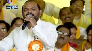 TDP Leader Narsi Reddy's Aggressive & Attractive Speech On TRS At Mahanadu