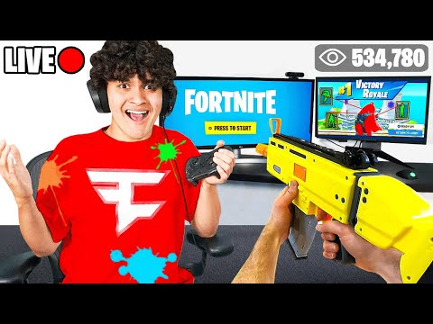 I Stream Sniped FaZe Jarvis In Real Life until he RAGE QUIT